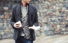 http://chicerman.com  billy-george:  Cool styling  #streetstyleformen