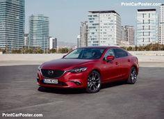 Mazda 6 Sedan 2017 poster, #poster, #mousepad
