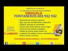 Fontaneros ORIHUELA 603 932 932 y Costa