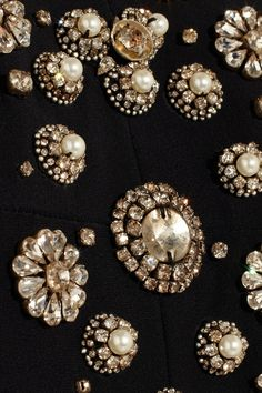 Alexander McQueen | Crystal-embellished crepe mini dress
