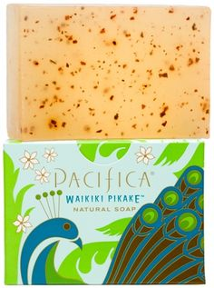 Dry Sensitive Skin? Why not try Pacifica Waikiki Pikake Natural Soap? Pacifica Soap is Gluten Free & a Natural Vegan Soap Bar. A homage to the lush wooded & flowered paradise of old world Hawaii, this hauntingly beautiful blend combines sweet Pikake - a delicate, exquisite jasmine flower native to Hawaii - with sensuous & velvety sandalwood. #Pacifica #Vegan #Soap #SoapBar #Natural #Organic #Eczema #SensitiveSkin #DrySkin