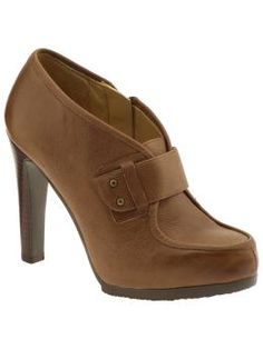 Nine West Bevel--the same shoe in a different color and from a different angle. Maybe the heel isn't so bad after all.