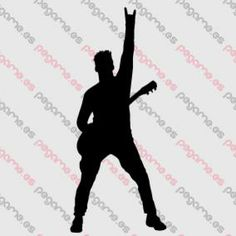 Pegame.es Online Decals Shop  #music #guitar #live #concert #gesture #vinyl #sticker #pegatina #vinilo #stencil #decal