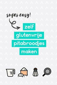 Glutenvrije pitabroodjes recept