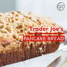 If you love Trader Joe's pancake bread and can't find it or aren't near a Trader Joe's — don't fret. You can make your own pancake bread at home! It's tender, moist, and FULL of crumb! #traderjoes #traderjoescopycat #pancakebread #breadrecipe #bread #recipes