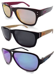 Shred Optics' new sunglasses are seriously cool. They're a kick-ass line of cutting-edge sunglasses - both fashionable and functional, 365 days of the year. #SelfMagazine