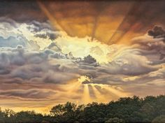 Gallery Direct Fine Art Prints: Spring Branch Sky by Jon Eric Narum