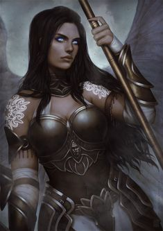 ArtStation - .: Executioner Angel :., Irene Muñoz