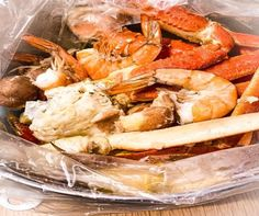How I Make My Seafood Boils in A Bag Seafood Boil Recipes, Shrimp Recipes Easy, Chicken Pasta Recipes, Cajun Recipes, Cooking Recipes, Fish Recipes, Yummy Recipes, Crab Boil Bag Recipe, Grilled Seafood