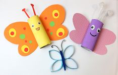 Fun Crafts For Kids, Diy And Crafts, Project Life Scrapbook, Toilet Paper Roll, Kids Corner, Pin Collection, Kindergarten, Christmas Ornaments, Holiday Decor