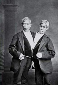 chang and eng bunker...siamese twins