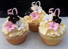 50th Birthday Cupcakes | Flickr - Photo Sharing!