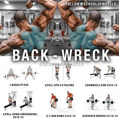 """2,209 Me gusta, 25 comentarios - School Of Muscle (@schoolofmuscle) en Instagram: """"✅ Want Thicker Lats?! Try this next time you blast back!  . . . ✅ People who understand strength…"""""""