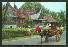 Minangkabau-Horse-Carriage-House-Sumatra-Indonesia