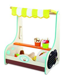 Take a look at this Ice Cream Shop Set by Wonderworld on #zulily today!