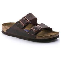 d01423cc97c4 Birkenstock Arizona Soft Footbed - Habana. Flat SandalsTwo Strap SandalsStylish  SandalsBrown SandalsLeather SandalsBirkenstocksBirkenstock MenBirkenstock  ...