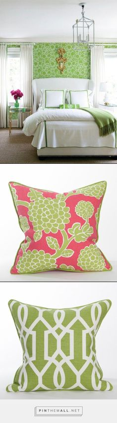 Inspiration - Palm Beach Style @ Coastal Home Pillows -