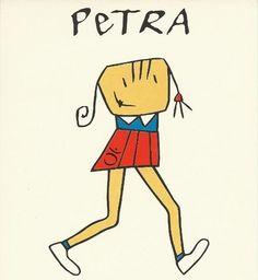 Caricaturas de la infancia.
