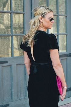 The Best Holiday Dress Find by Illinois style blogger Style in a Small Town