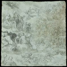 "Carletto Caliari 1570-1596 ""Psyche to the Gods - Pair"""