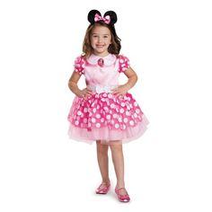 Child Pink Minnie Classic Tutu Costume by Disguise 67807