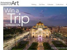 Philadelphia Museum of Art Trip to Mexico Sweepstakes