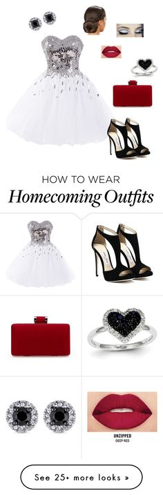 """""""Disco Darling """" by graceetibert on Polyvore featuring Smashbox and Kevin Jewelers"""