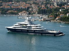 """Mega Yacht """"LUNA"""" - Seatech Marine Products & Daily Watermakers"""