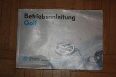 VW Golf Bedienungsanleitung   deutsch 9.93    941.551.1111.00