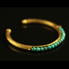 Fab.com | Simple Bangle Turquoise $38
