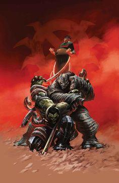 #Hulk #Fan #Art. (Indestructible Hulk Special Vol.1 #1 Cover) By: Alexander Lozano. ÅWESOMENESS!!!™ ÅÅÅ+