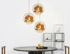 Pokj wandleuchte wandlampe eisen lampe körper glas lampenschirm