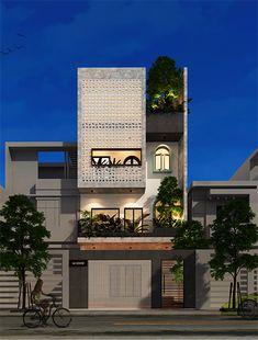 House Window Design, Small House Design, Cool House Designs, Modern House Design, House Architecture Styles, Concept Architecture, Brick Design, Facade Design, Architectural Association