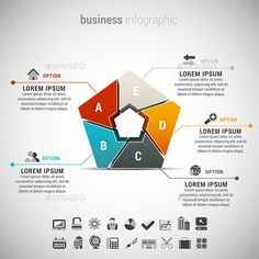 Business Infographic — Photoshop PSD #promotion #layout • Available here → https://graphicriver.net/item/business-infographic/13611516?ref=pxcr