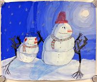 Art with Ms. Gram: The Most Wonderful Time of the Year - Winter Value Landscapes! (2nd)