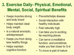 benefit of daily exercise essay