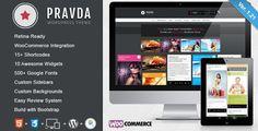 Pravda – Retina Responsive WordPress Blog Pinterest Inspire Theme