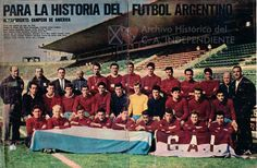 1964 Club Atlético Independiente de Avellaneda Argentina Soccer, National League, Competition, Club, Basketball Court, Football, Movie Posters, Champs, Falling Down