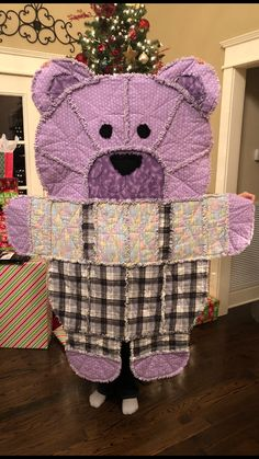 Quilting Ideas, Quilting Designs, Quilt Patterns, Teddy Bear Quilt Pattern, Baby Rag Quilts, Little Tykes, Quilt Design, Learn To Sew, Cool Baby Stuff