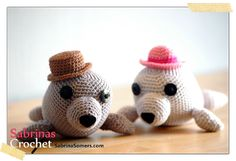 Free Crochet Amigurumi Seal Pattern : 1000+ images about Zeehond Haken on Pinterest Baby seal ...