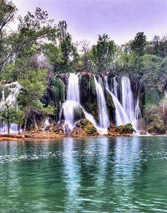 Kravice waterfall,Bosnia: