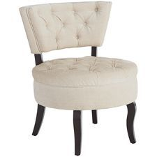 Bea Tufted Chair - Ivory