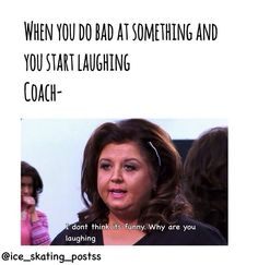 My coach laughs Figure Skating Funny, Figure Skating Quotes, Figure Skating Outfits, Ice Skating Quotes, Inline Speed Skates, Why Are You Laughing, Skating Pictures, Sport Quotes, Stupid Funny Memes