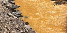 Heavy Metals Turn Waterways Orange / Riverhugger, Wikimedia
