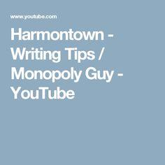 Harmontown - Writing Tips / Monopoly Guy - YouTube