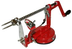 Purelite™ Classic Apple Peeler. This amazing machine peels, cores and slices apples or potatoes all at the same time.
