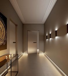 Home Room Design, Dream Home Design, Modern House Design, Interior Design Living Room, Flur Design, Plafond Design, Dream House Interior, Luxury Homes Dream Houses, Minimalist Home