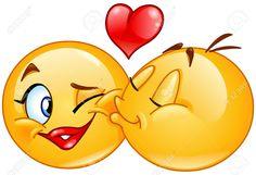 Emoticon Kiss Emoji Vector Images (over Funny Emoji Faces, Funny Emoticons, Smileys, Smiley Emoji, Images Emoji, Emoji Pictures, Love Smiley, Emoji Love, Love Heart Emoji