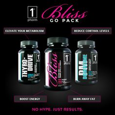 Are you making progress but just not seeing it fast enough? Are you struggling with cravings? Is your energy lacking throughout the day? Well the 1st Phorm Bliss Go Pack will solve all these issues and then some! The Go Pack will having you burning fat 24 hours a day and provide all day energy and focus so that you can not only take care of the work day but also have enough left in the tank to crush it at the gym! #1stphorm #legionofboom #neversettle #weightloss #fitness #supplements
