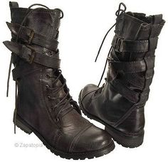 Biker Belt Boots